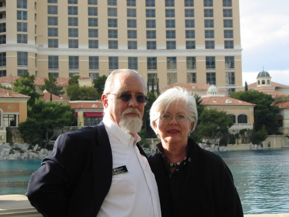 Doreen and Jim at Bellagio